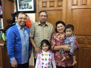 SBY with Palmer Situmorang